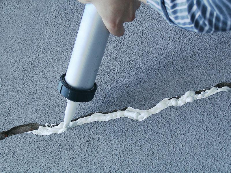 Герметизация швов бетонный пол